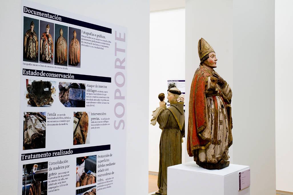 A restauración no museo. Criterios e intervencións
