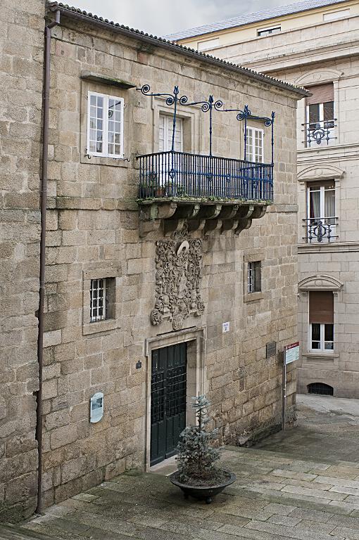 Fachada del antiguo Palacio Episcopal