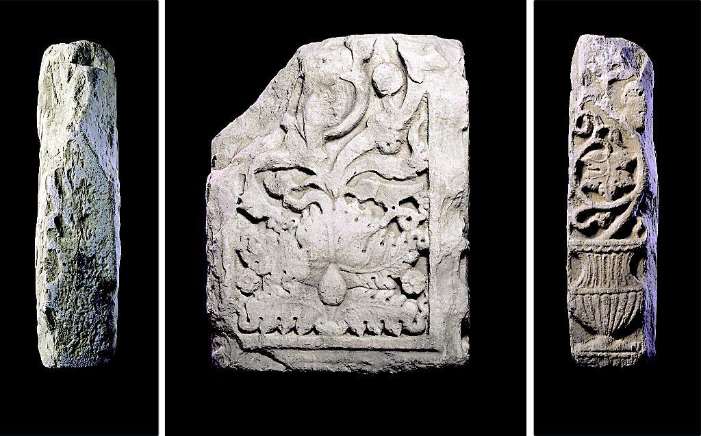 Placa de Amiadoso (siglo II d.C. y siglos IX-X d.C.)