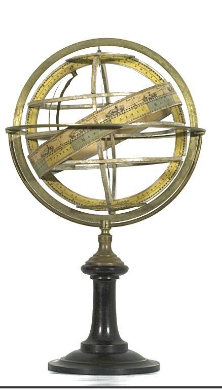 Esfera armilar. Antonio Monfort (ca. 1800-1850)