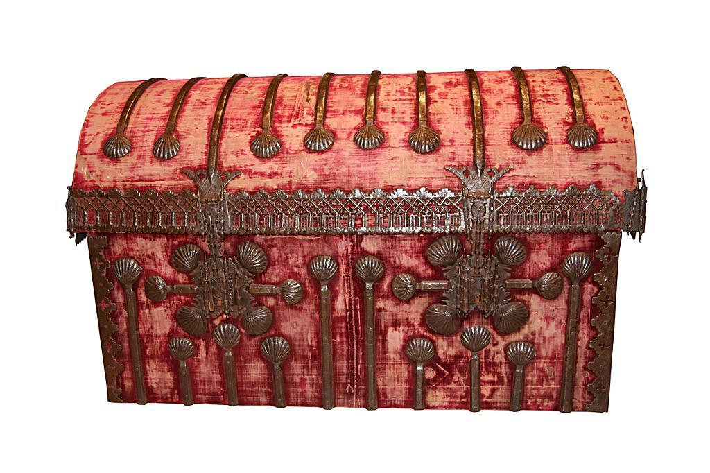 Arca ensaiolada. Anónimo, escola castelá (tardogótico, 1476-1525)