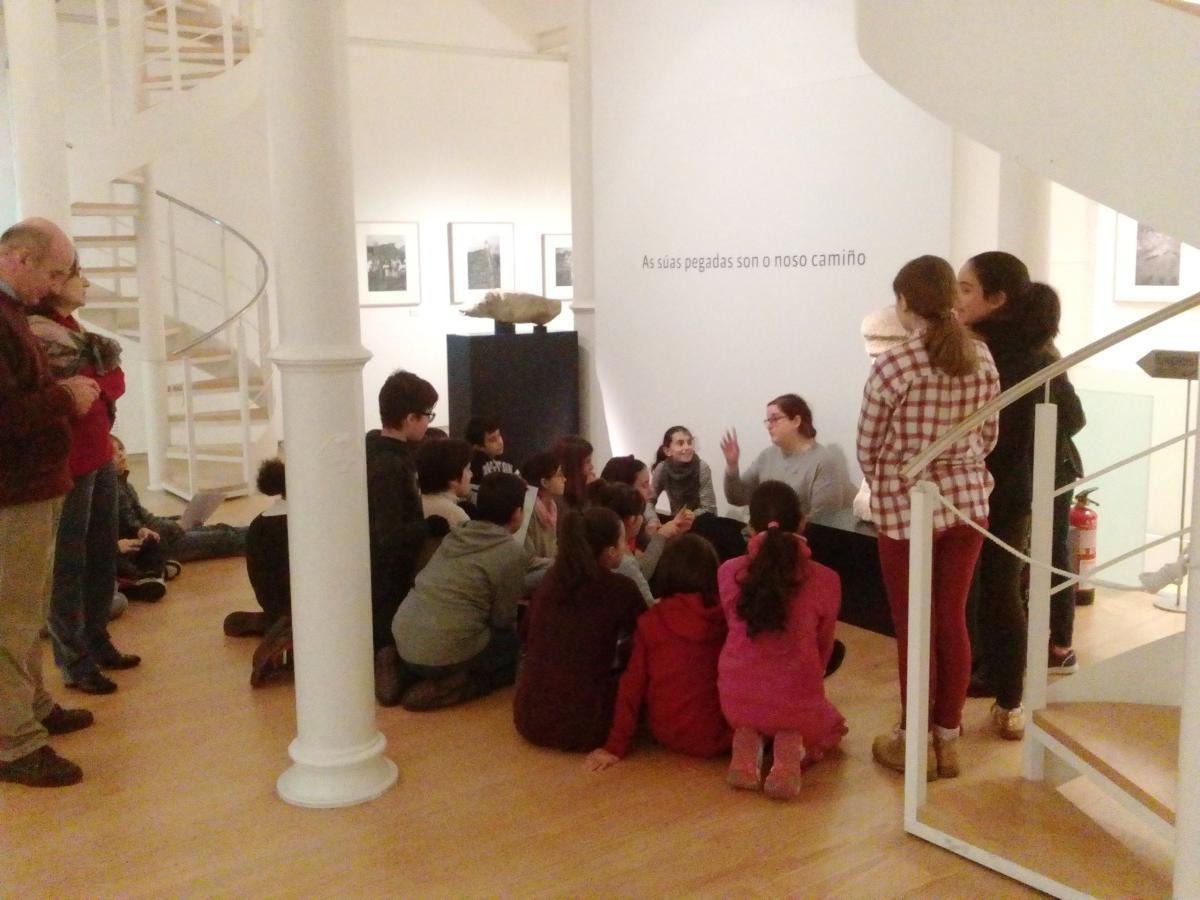 Visita á exposición