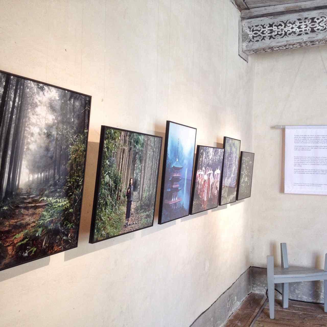 Imaxe da exposición no castelo Läckö