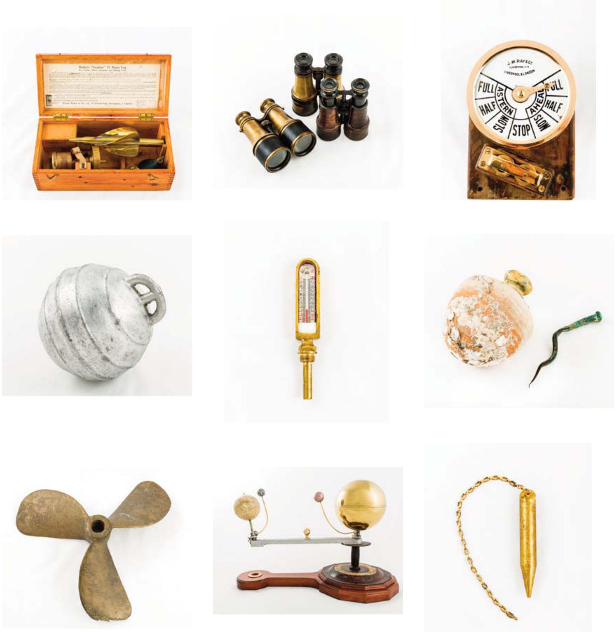Obxectos da exposición