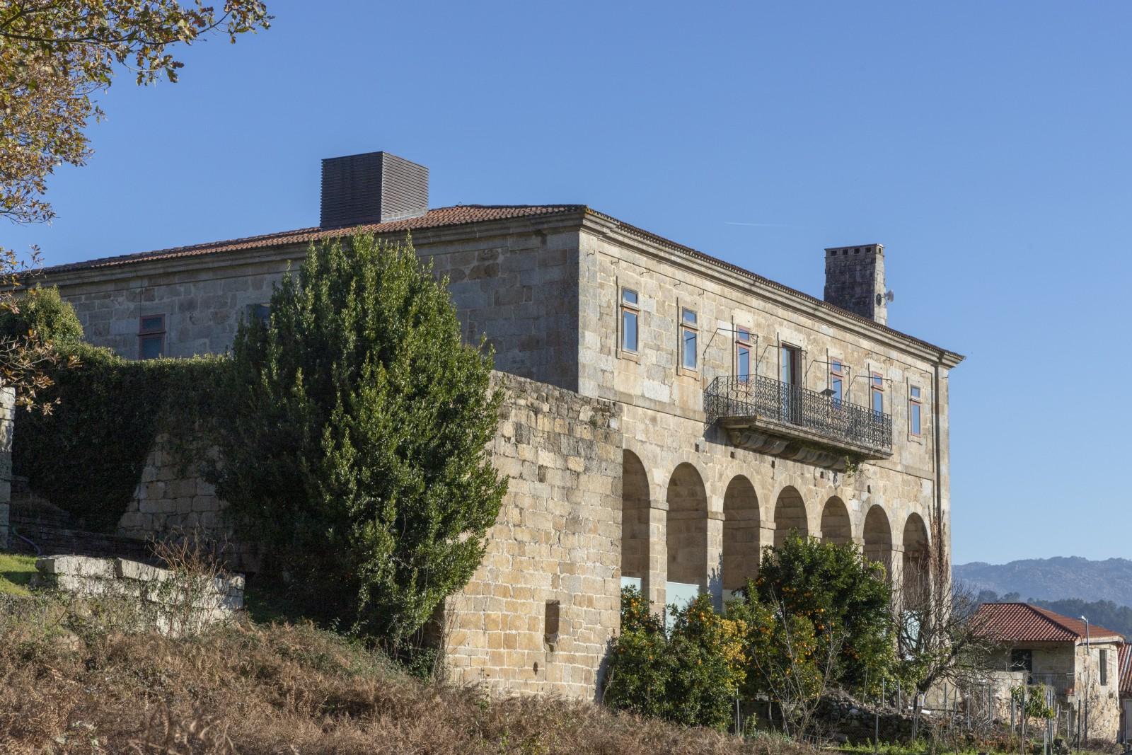 Exterior do Museo do Viño