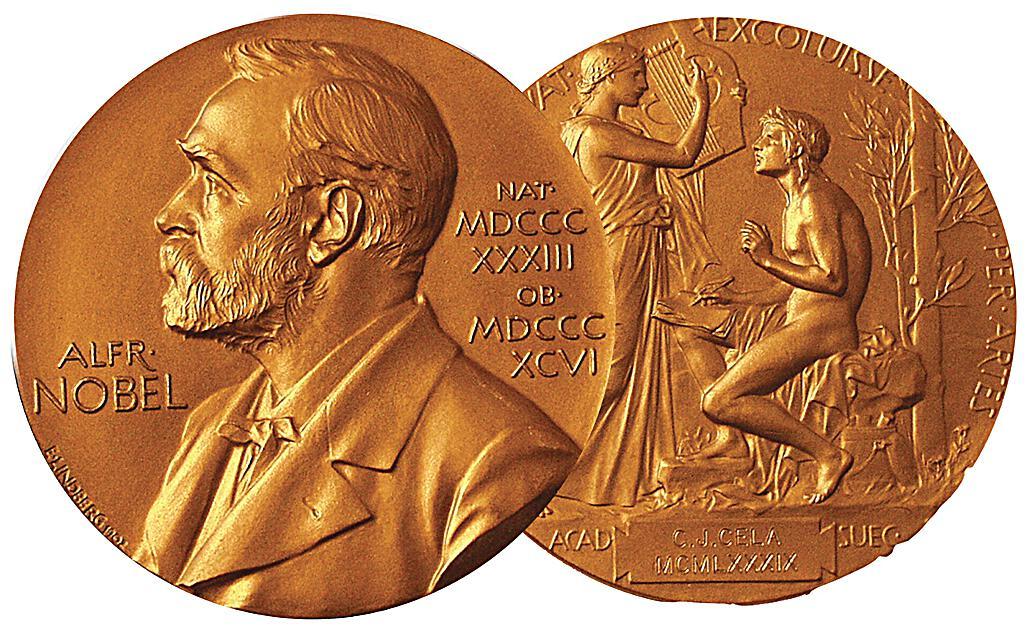 Medalla do premio Nobel de literatura