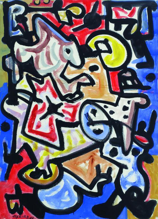Resultado de imagen para pintura de Laxeiro,