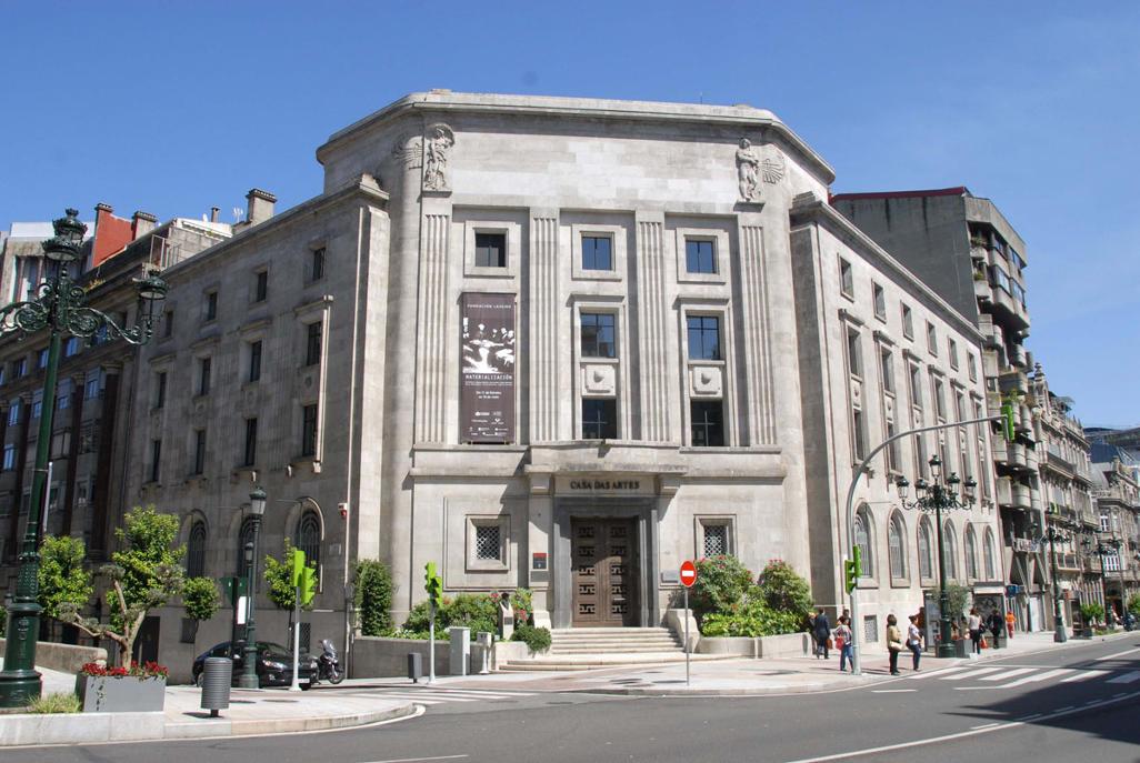 Casa das Artes, sede da Fundación Laxeiro
