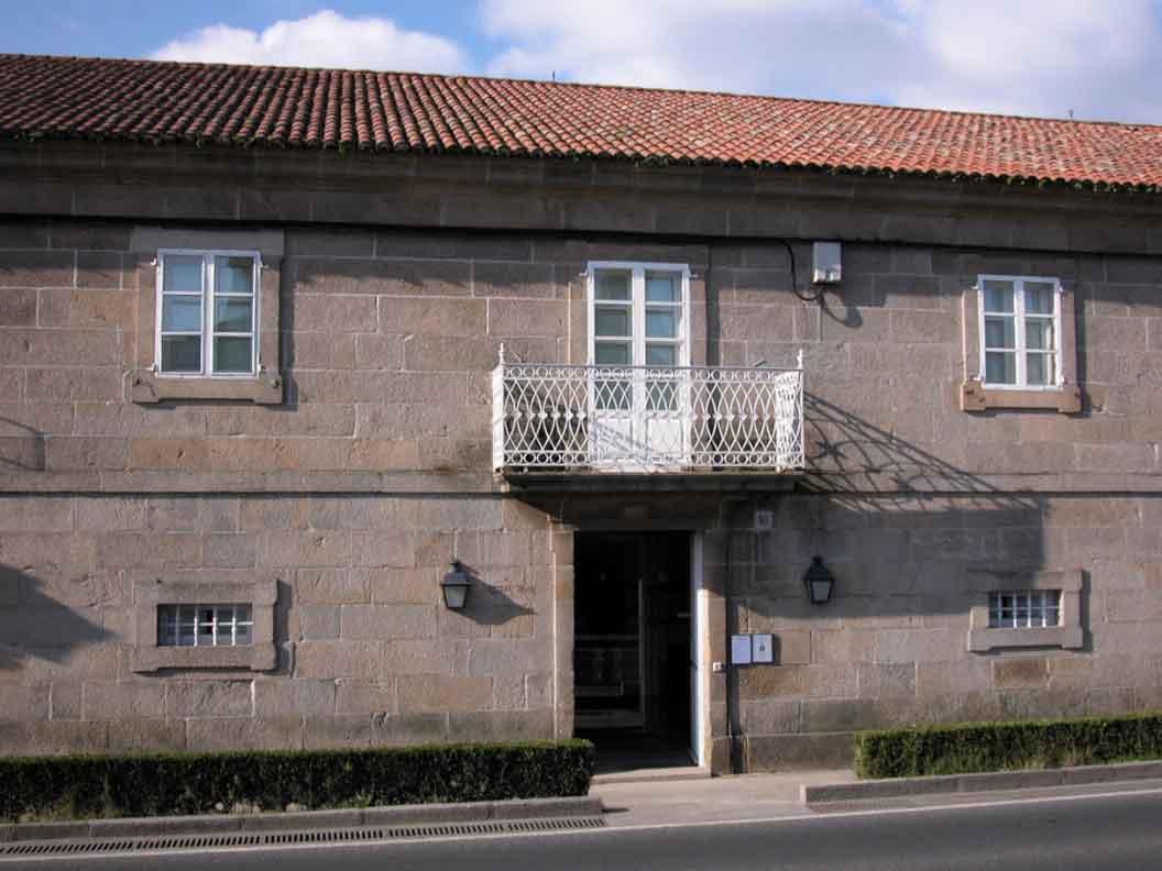 Casa de los canónigos, sede de la fundación
