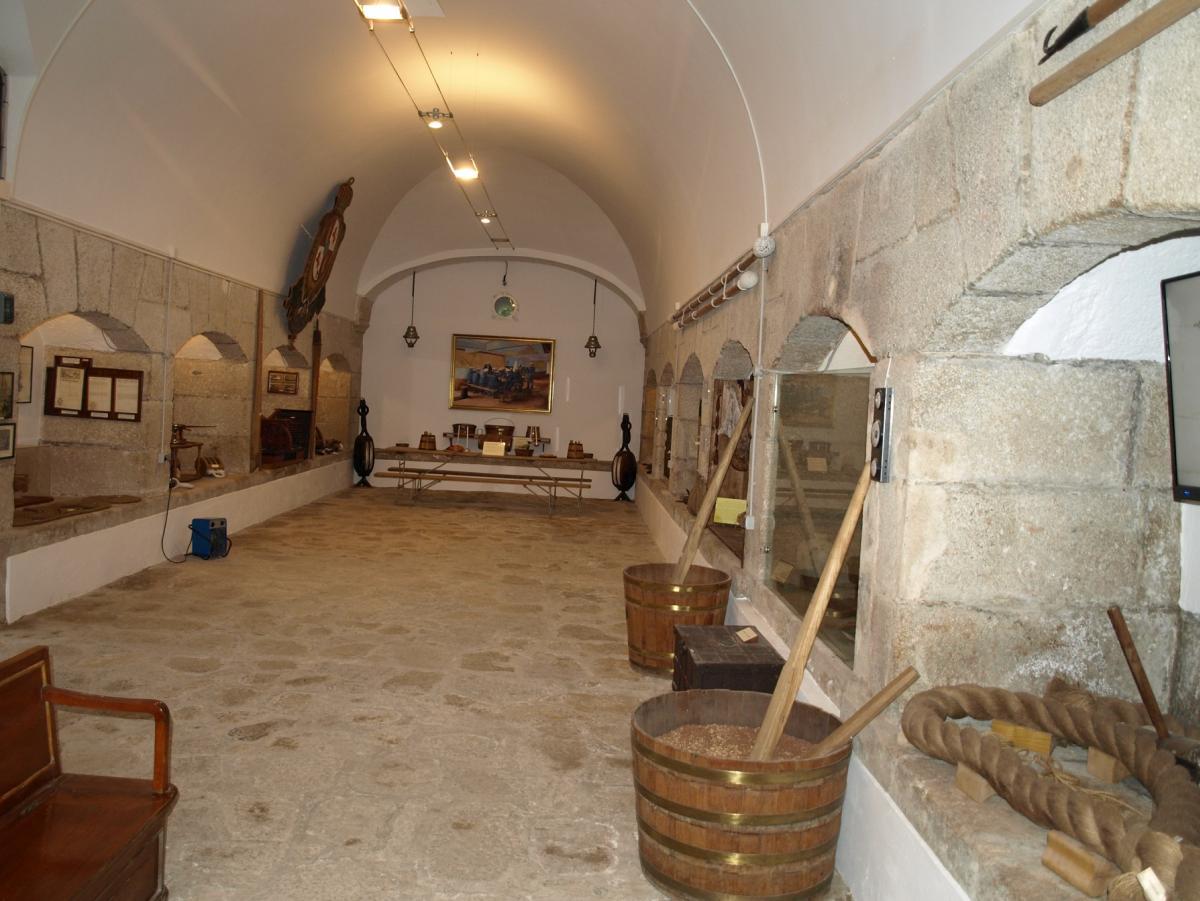 Imaxe interior do museo