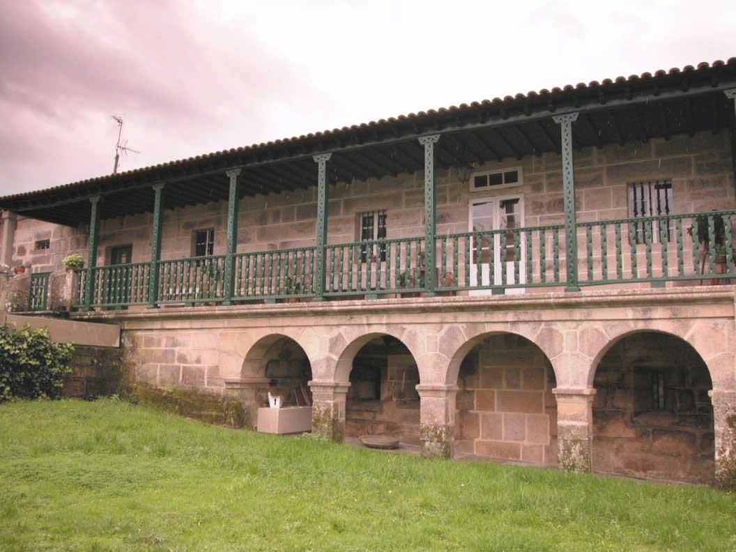 Balconada da Casa de Trasalba