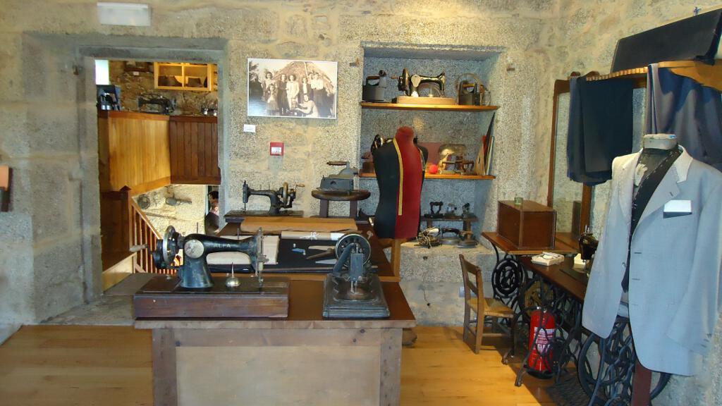 A sala de costura