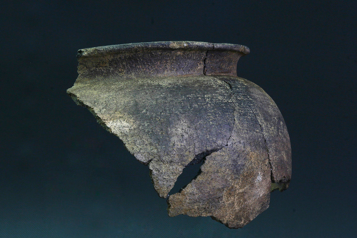 Fragmento de peza cerámica