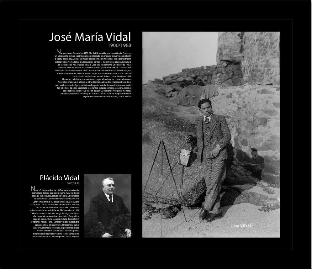 Plácido Vidal y José María Vidal