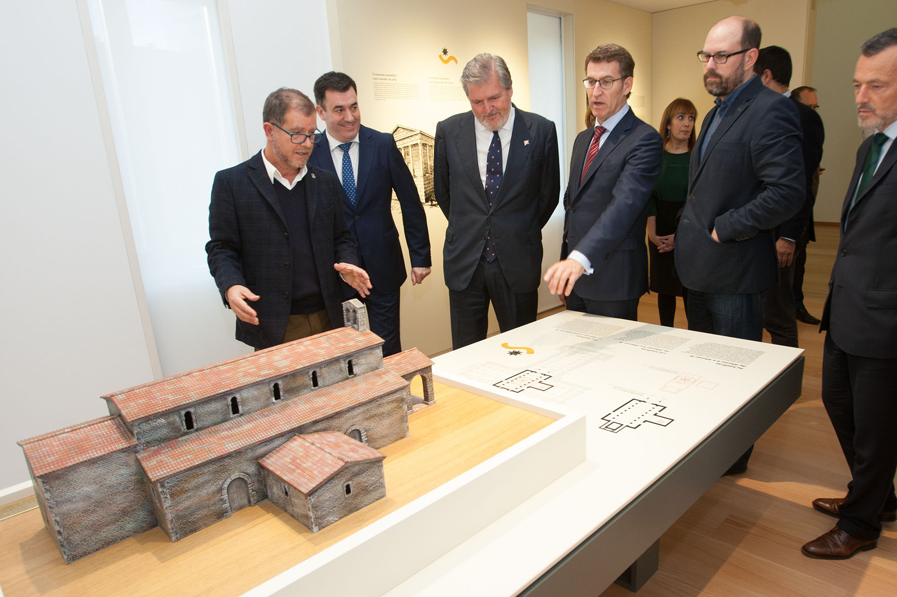 O ministro de Cultura visita o Museo das Peregrinacións e de Santiago