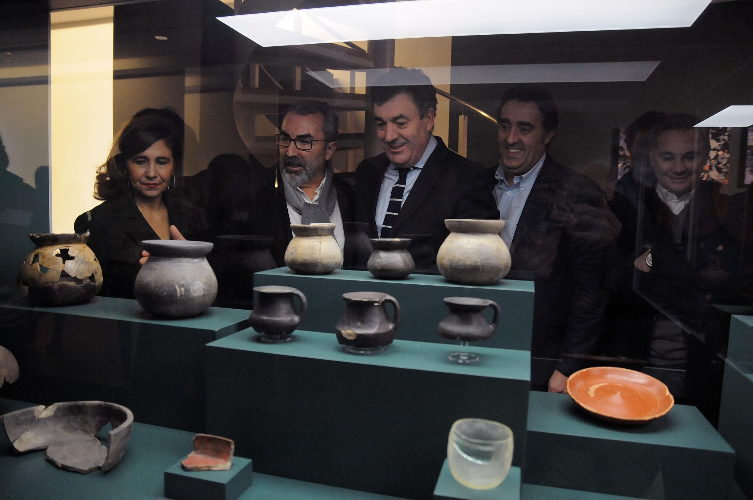 Inauguración da mostra