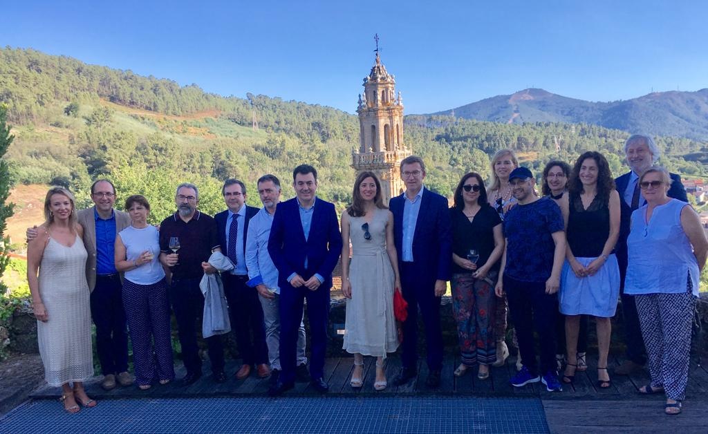Acto inaugural do Museo do Viño de Galicia