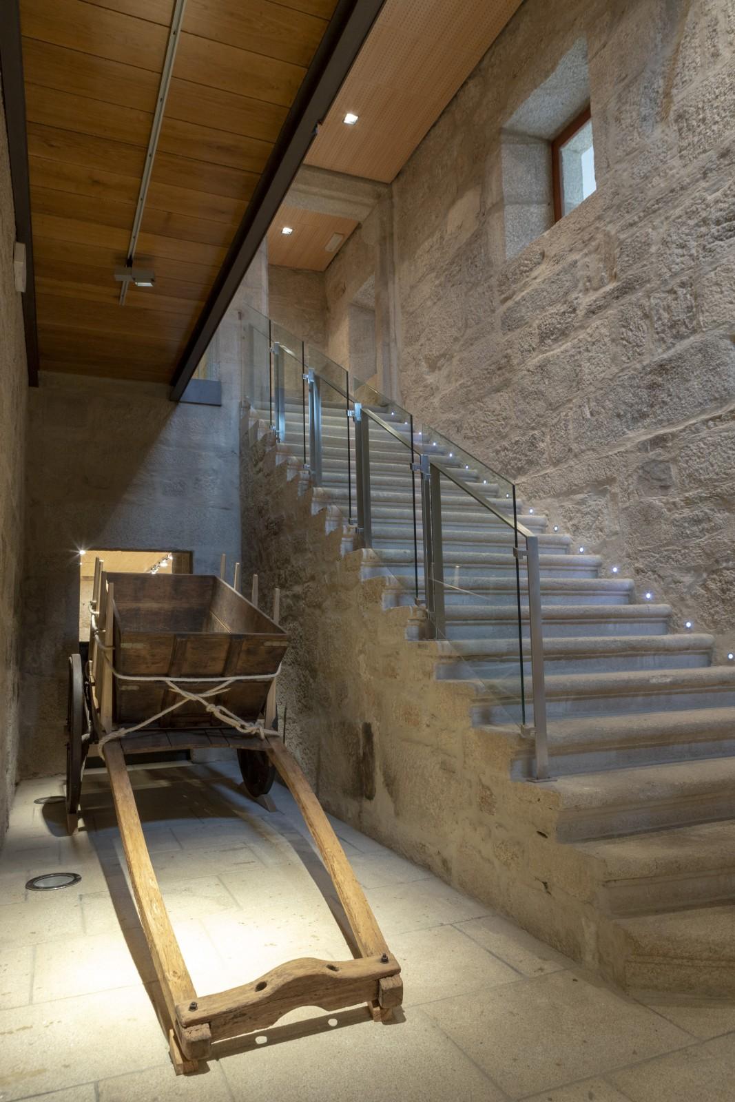 Interior del Museo del Vino