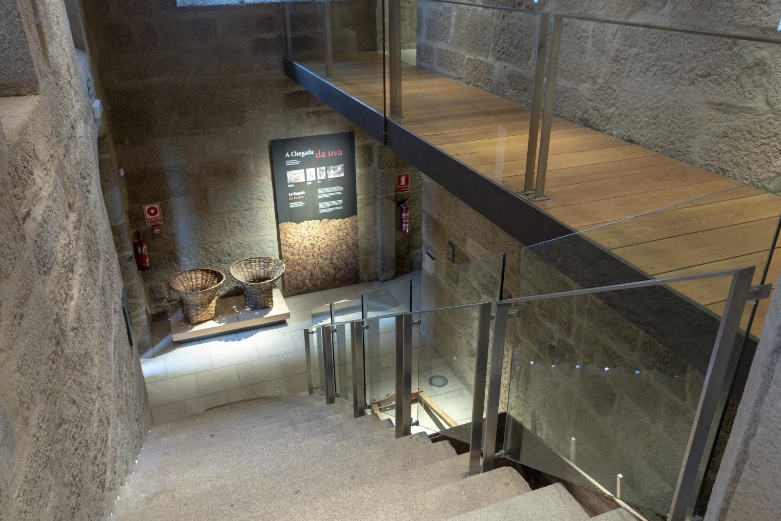Interior do Museo do Viño