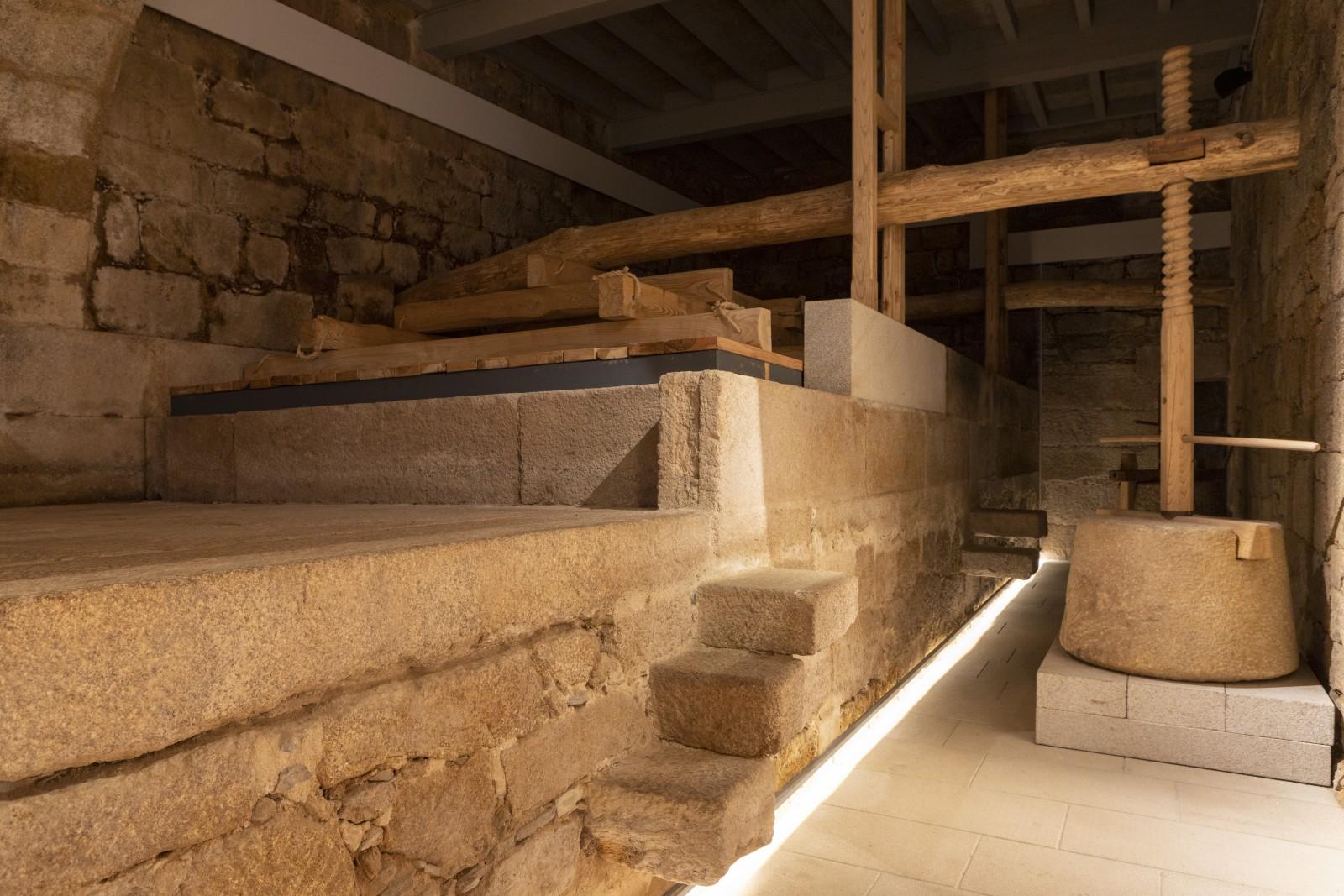 Lagar do Museo do Viño