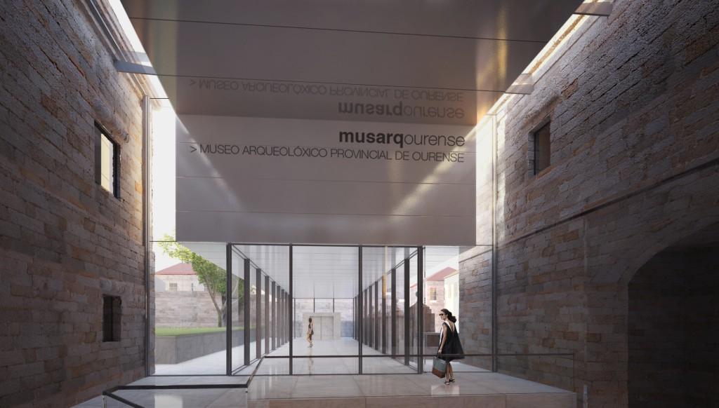 Infografía del museo después de las obras