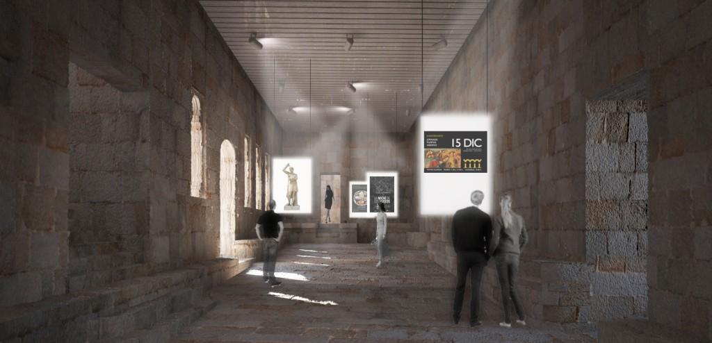 Infografía de como quedará o museo despois das obras