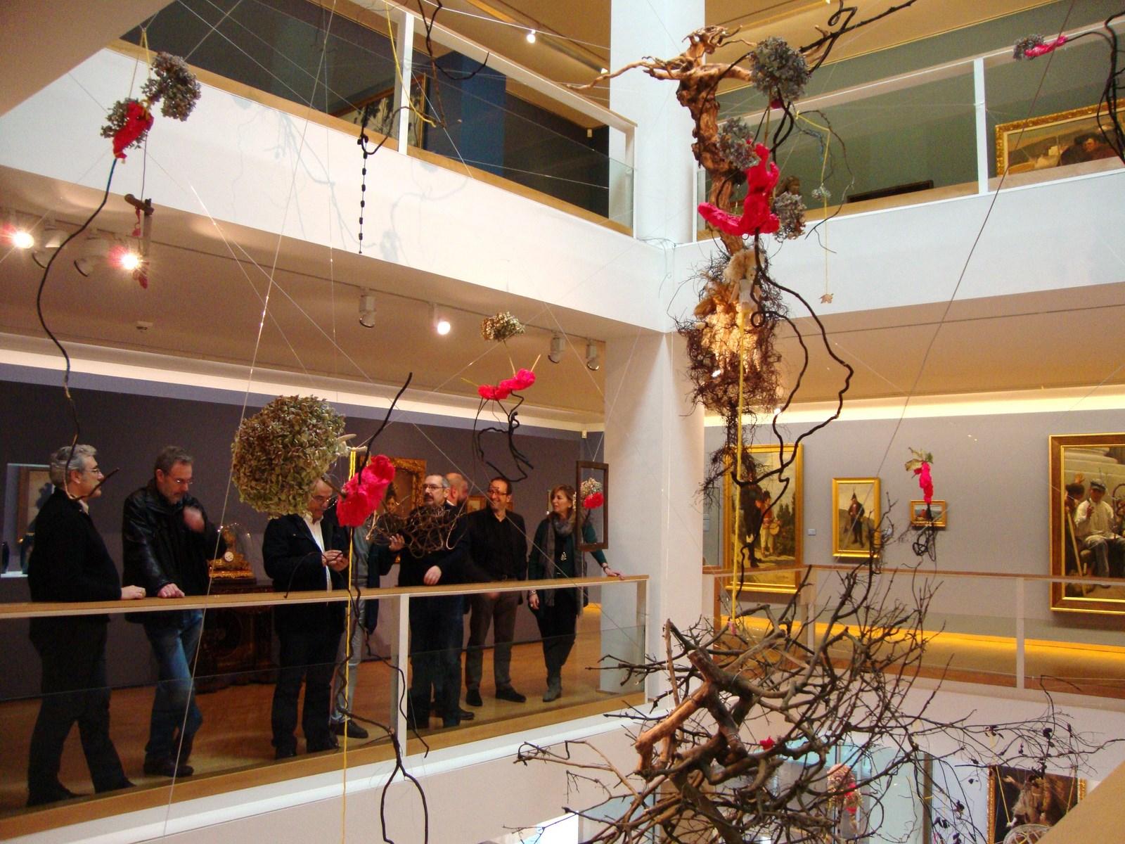Anxo Lorenzo presentou esta mañá en rolda de prensa a instalación do artista coruñés Xurxo Gómez Chao
