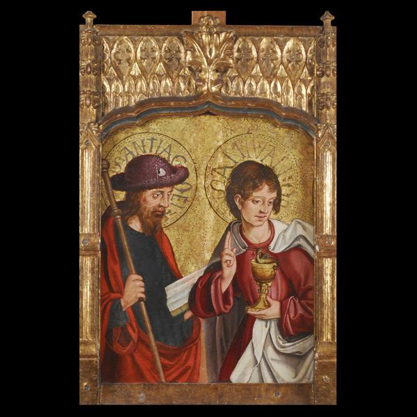 Apóstolos Santiago e san Xoán