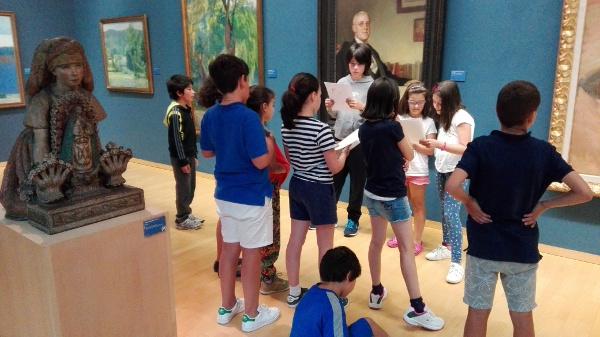 """Gran acollida do obradoiro de verán """"Do autorretrato ao selfie"""" no Museo de Belas Artes da Coruña"""