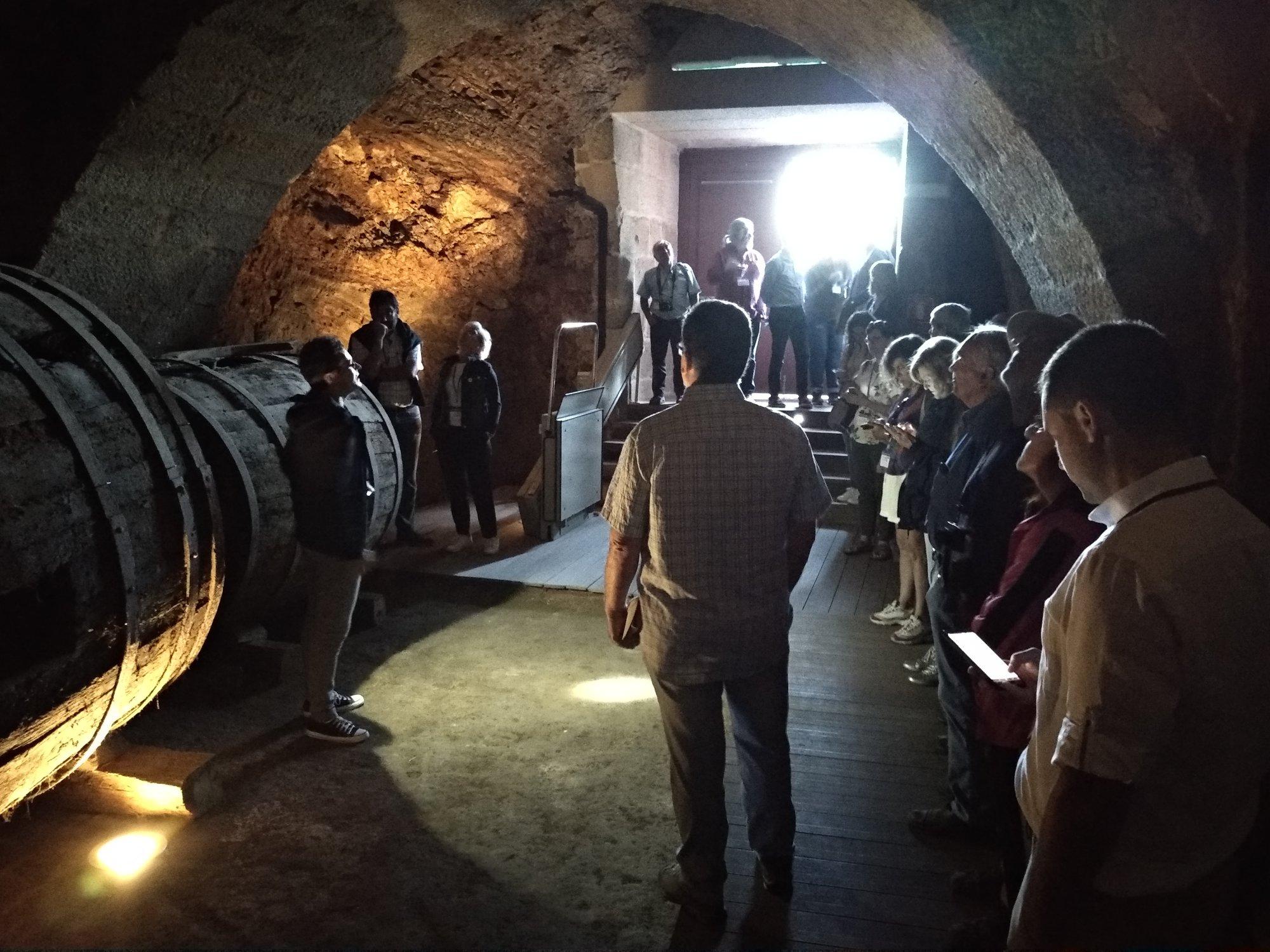 Un momento da celebración das xornadas no Museo do Viño